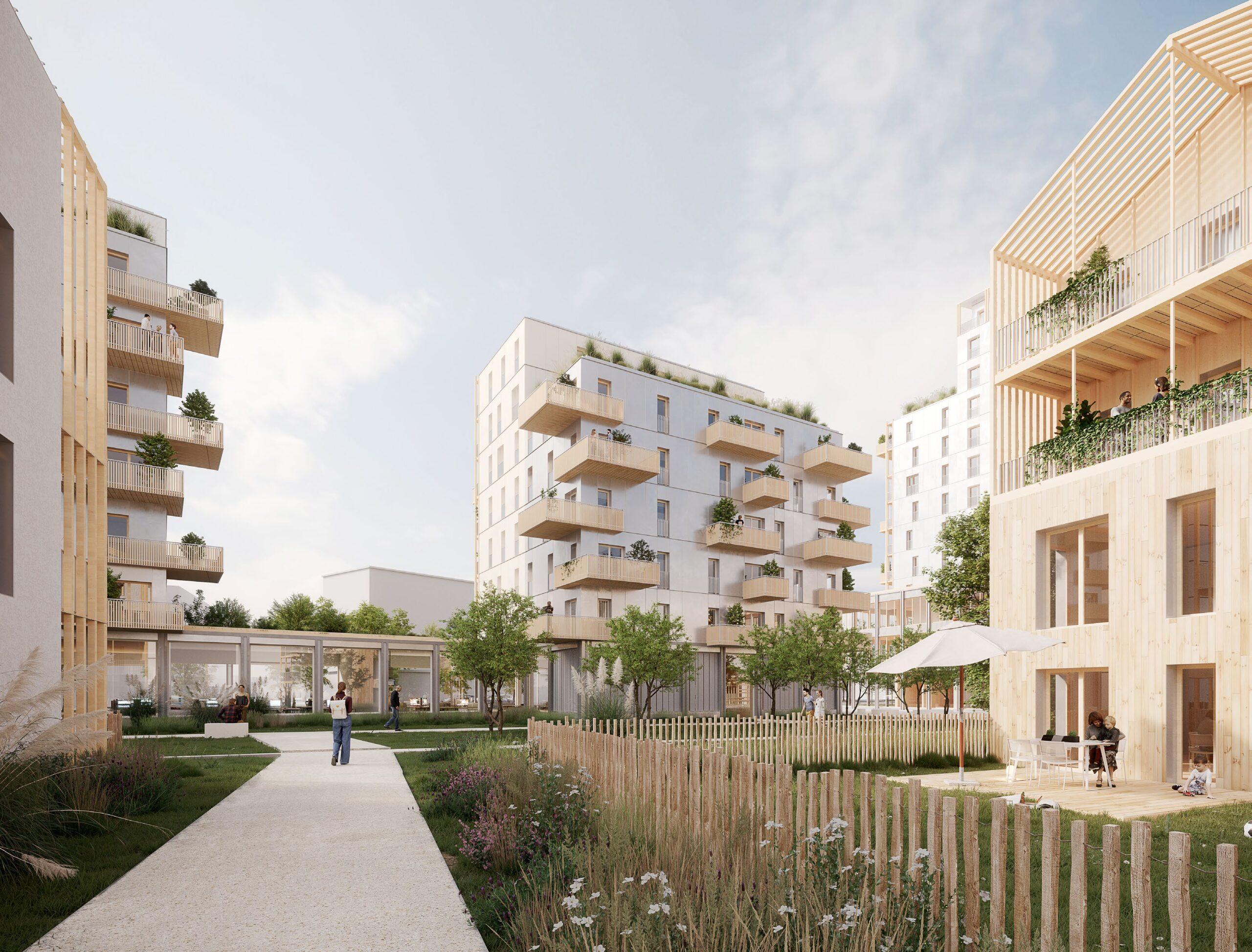 construction bois logements parking bureaux commerces